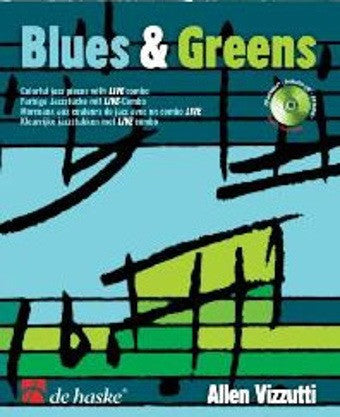 Allen Vizzutti: Blues + Greens (Clarinet + CD)