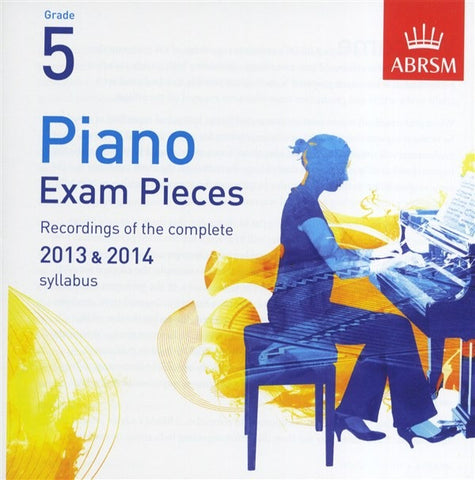 ABRSM Piano Exam Pieces 2013-2014 - Grade 5 - CD Only