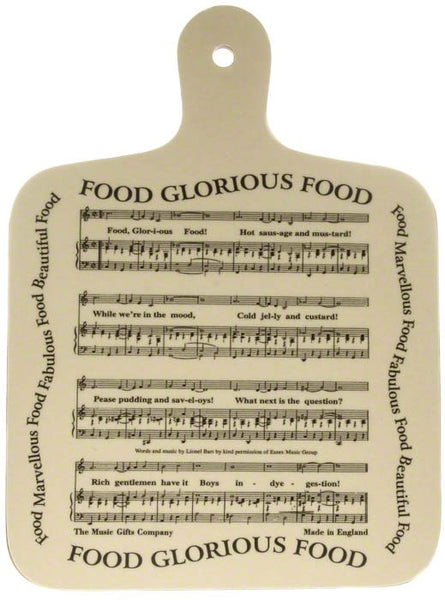 Chopping Board Food Glorious Food Ds Music