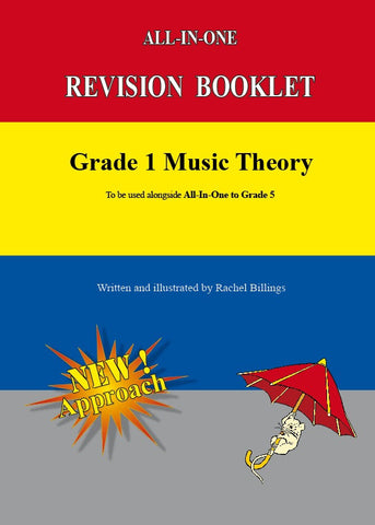 All-In-One Revision Booklet - Grade 1 Music Theory
