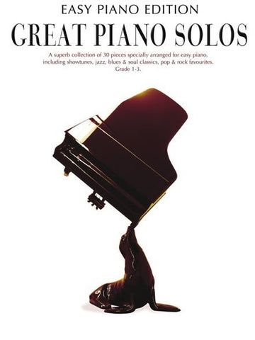 Great Piano Solos: The Black Book - Easy Piano Edition