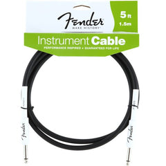 Fender Performance Series Instrument Cable in Black - 5ft