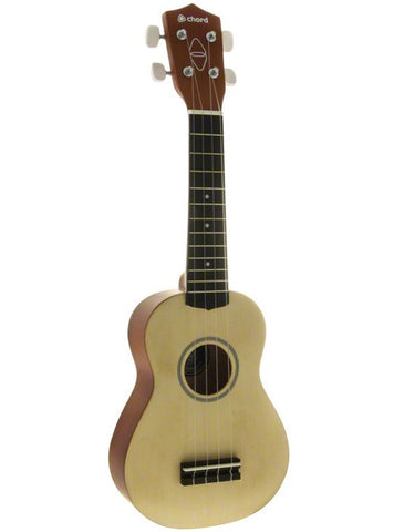 Chord Soprano Ukulele - Natural Wood