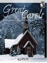 Great Carols - Instrumental Solos for Christmas (Bassoon or Trombone or Euphonium + CD)