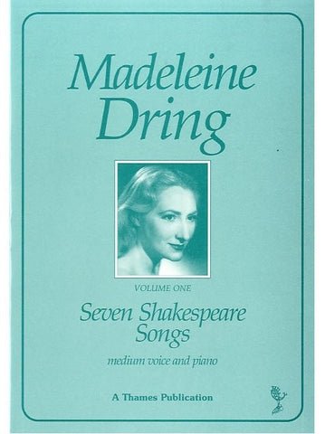 M. Dring: Seven Shakespeare Songs - Medium Voice + Piano
