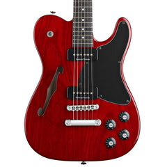 Fender Jim Adkins JA-90 Telecaster - Crimson Red Transparent