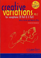 Creative Variations - Volume 2 for Saxophone