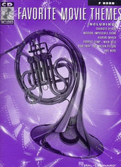 Favorite Movie Themes For French Horn with CD