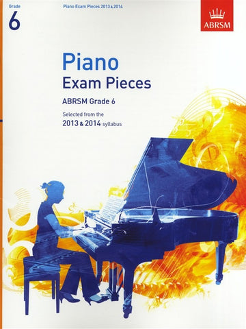 ABRSM Grade 6 Piano Exam Pieces 2013-2014