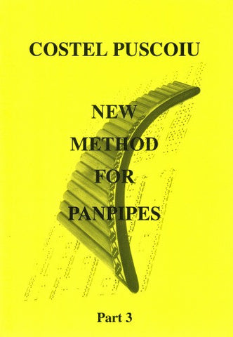 Costel Puscoiu: New Method For Panpipes - Part 3