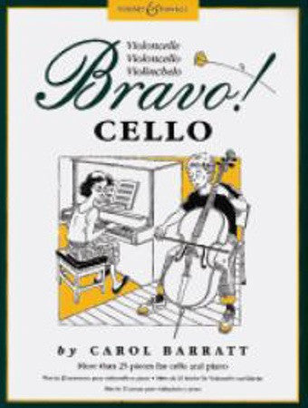 Carol Barratt: Bravo! Cello (Cello/Piano)