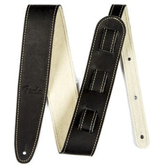 Fender Ball Glove Black Leather Strap