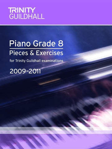Trinity Guildhall: Piano Pieces + Exercises 2009-2011 - Gd 8