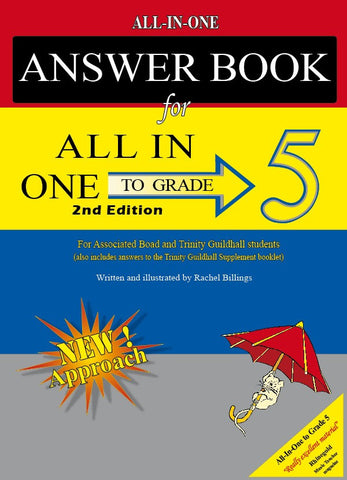 All-In-One to Grade 5 Music Theory Answer Book (2nd Edition)