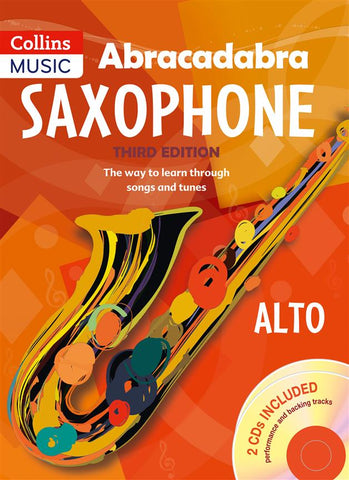 Abracadabra Saxophone - Pupils Book (Alto Sax + CD)