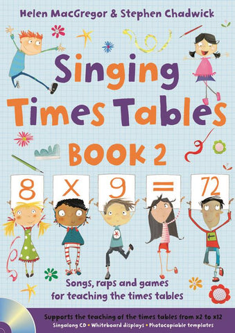 Singing Times Tables Book 2 (with CD)