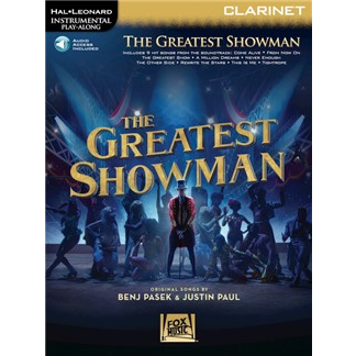 Hal Leonard Instrumental Play-Along: The Greatest Showman - Clarinet (with Online Audio)