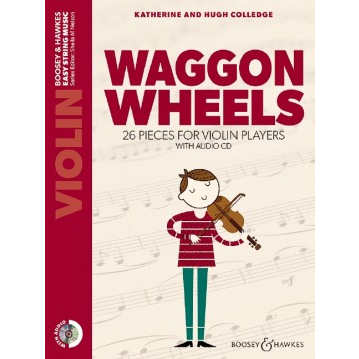 Waggon Wheels - Violin (with CD) - New Edition
