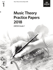 ABRSM Music Theory Practice Papers 2018 - Grade 1
