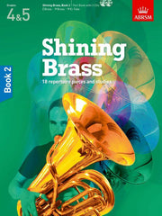 Shining Brass Book 2 - Grades 4-5 (with CD)