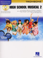 Hal Leonard Instrumental Play-Along: High School Musical 2 (Trombone + CD)