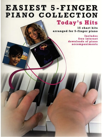 Easiest Five Finger Piano Collection: Today's Hits