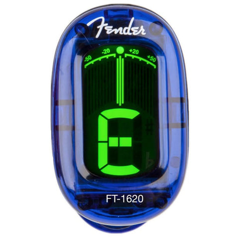 Fender FT-1620 California Series Guitar Tuner - Lake Placid Blue