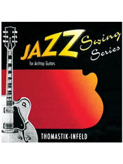 Thomastic Infeld: Jazz Swing String Archtop Guitar Strings - Flatwound - Medium (13-53) - Set