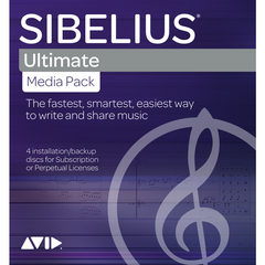 Sibelius Ultimate Media Pack (DVD Boxed Version)