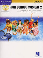 Hal Leonard Instrumental Play-Along: High School Musical 2 (Viola + CD)