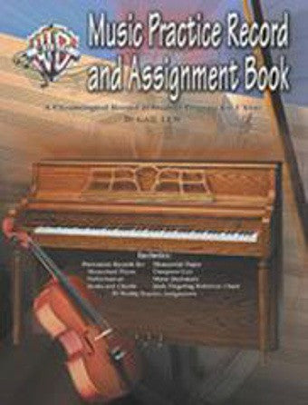 Music Practice Record + Assignment Book