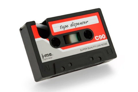 Cassette Tape Dispenser - Black