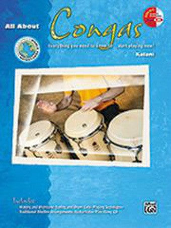 All About Congas - with CD