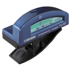 Boss TU-10 Clip-on Chromatic Tuner - Blue
