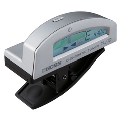 Boss TU-10 Clip-on Chromatic Tuner - Silver