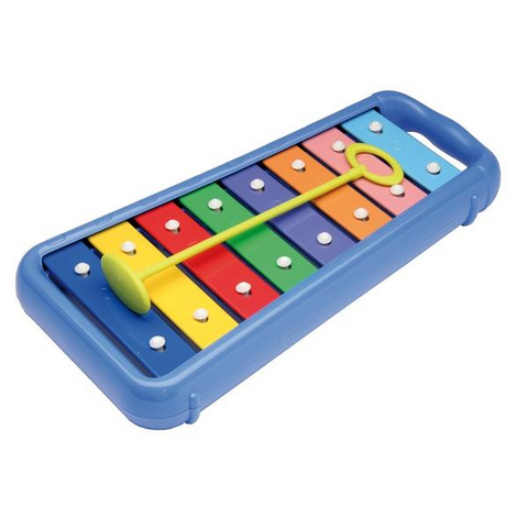 8 Note Diatonic Glockenspiel with 2 Mallets (3y+)