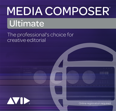 Media Composer Ultimate Academic for Students + Teachers