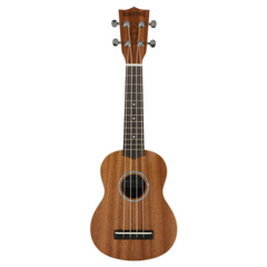 Native Soprano Ukulele in Sapele Wood (incl. Free Aquilla Ukulele Strings)