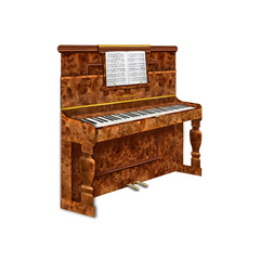 3D Greetings Card - Upright Piano