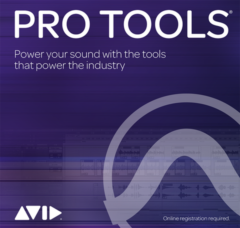 AVID Pro Tools 2018 (was Pro Tools 12) Annual Subscription (Boxed Version)
