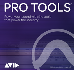 AVID Pro Tools 2018 (was Pro Tools 12) Annual Subscription for Students + Teachers (Boxed Version)