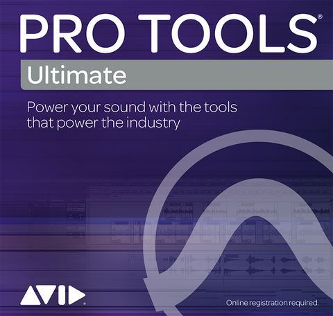 Pro Tools Ultimate 2018 Annual Upgrade + Support Plan Renewal (Boxed Version)