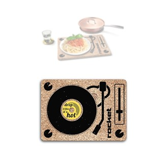 Rocket: DJ Three-Vet - Trivet, Tray + Coaster 3-in-1