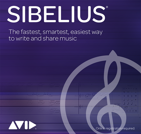 Sibelius (was Sibelius First) Upgrade - Digital Download