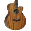 Tanglewood Evolution Exotic Koa Super Folk Cutaway Electro Acoustic Guitar