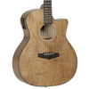 Tanglewood Evolution Exotic Maple Super Folk Cutaway Electro Acoustic Guitar