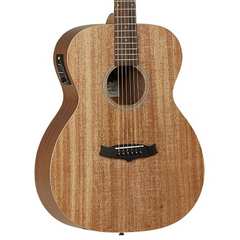 Tanglewood Winterleaf Orchestra Electro Acoustic Guitar - Natural Mahogany (with Hard Case)