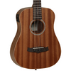 Tanglewood Winterleaf Travel Size Electro Acoustic Guitar - Mahogany, Natural Satin