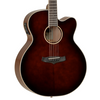 Tanglewood Winterleaf Super Jumbo Cutaway Electro Acoustic Guitar - Whiskey Barrel