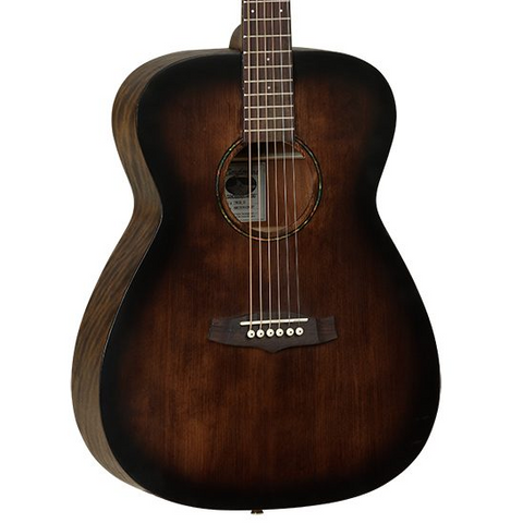 Tanglewood Crossroads Orchestra Acoustic Guitar - Whiskey Barrel Burst